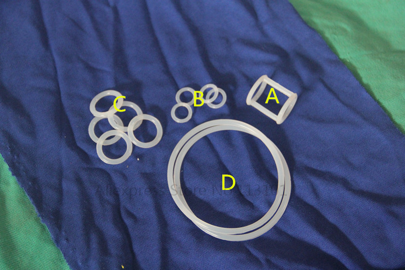 One Set of Seal Rings with 4 types for soft serve ice cream machines New Accessories of ice cream machine<br><br>Aliexpress