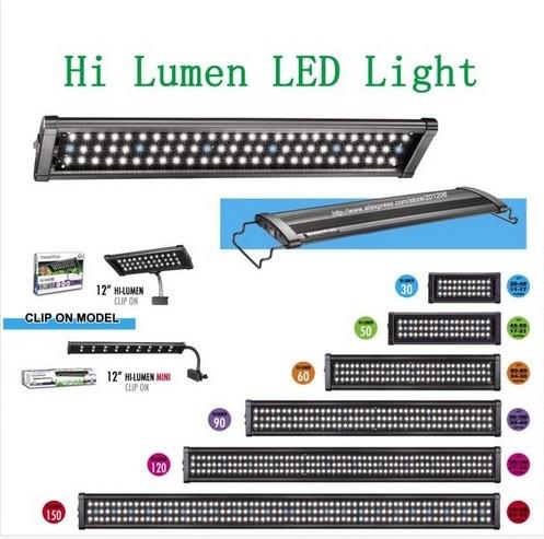 GZ LED-600 lampLed Aquarium Lights for tank 90cm-120cm.Hi Lumen bulb Aquarium/Fish tank LED light /Freshwater and Plant version(China (Mainland))