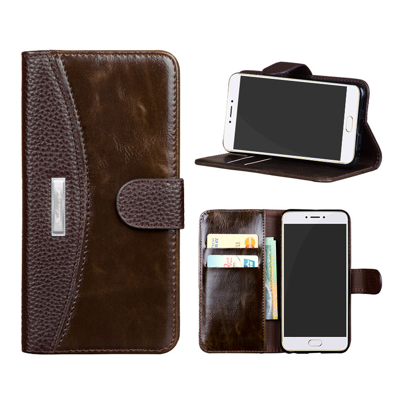 For Meizu Pro 6 Case Cover Quality Picks Leather Wallet Flip Mobile Phone Bags Cases for Meizu Pro 5 Mini Dirt Resistant Holder(China (Mainland))