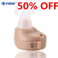 FEIE deafness headset High Auality Sound Amplifier Micro Ear Hearing Aid S 212 Drop Shipping