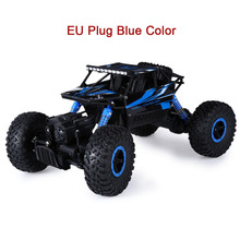 Hot RC Car 2.4G 4CH 4WD Rock Crawlers 4x4 Driving Car Double Motors Drive Bigfoot Cars Remote Control Model Off-Road Vehicle Toy(China)