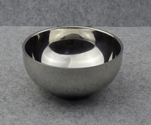 Stainless Steel Shaving Soap Bowl for Mens Shave Beard Foam Used(China (Mainland))