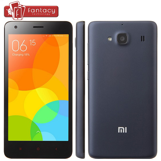"Original Xiaomi Redmi 2 Phone Hongmi 2 MSM8916 Quad Core 4G FDD LTE WCDMA Android 4.4 MIUI 6 2G RAM 4.7"" Gorilla IPS Red Rice 2(China (Mainland))"