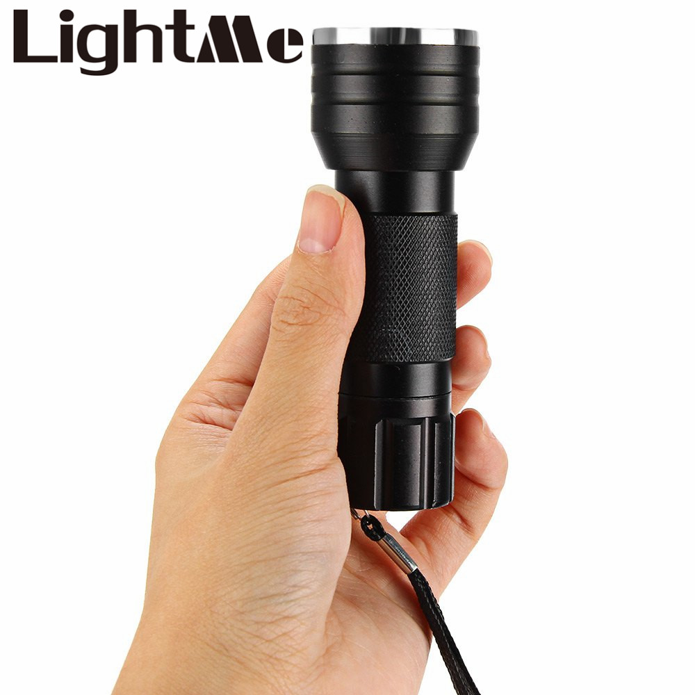2016 New Arrival 21 LED Flashlight UV Glue Curing Invisible Ink Marker Ultraviolet Lamps Portable Uv Machine Light 395 - 410nm(China (Mainland))