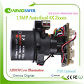 960P 1 3 Million Pixel HD 4X zoom 2 8 12mm IP PTZ module autofocal lens