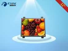 12 inch open monitor; 12 inches 1024×768 steel display; 12 inches steel open industry   monitor;
