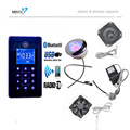 new arrival bluetooth MP3 USB shower room fm radio control O3 shower cabin control Pad kits