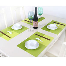 PVC Quick-drying Placemats Insulation Mats Coasters Kitchen/Dining Table 1Pcs(China (Mainland))