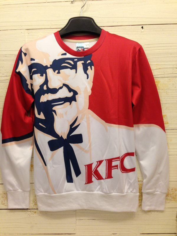 KFC sweatshirt Kentucky Fried Chicken Creed Uniforms Food Women Men Pullovers 3D Print Special Hoodies sportswear Harajuku 8073(China (Mainland))