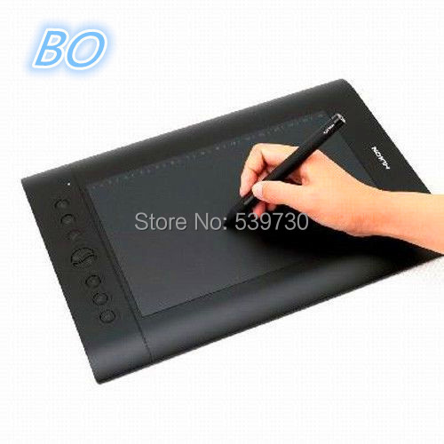 Cheap Huion 10'' x 6.25'' Inches digital Tablet Pen Tablet drawing tablet for computer--H610 PRO free shipping(China (Mainland))
