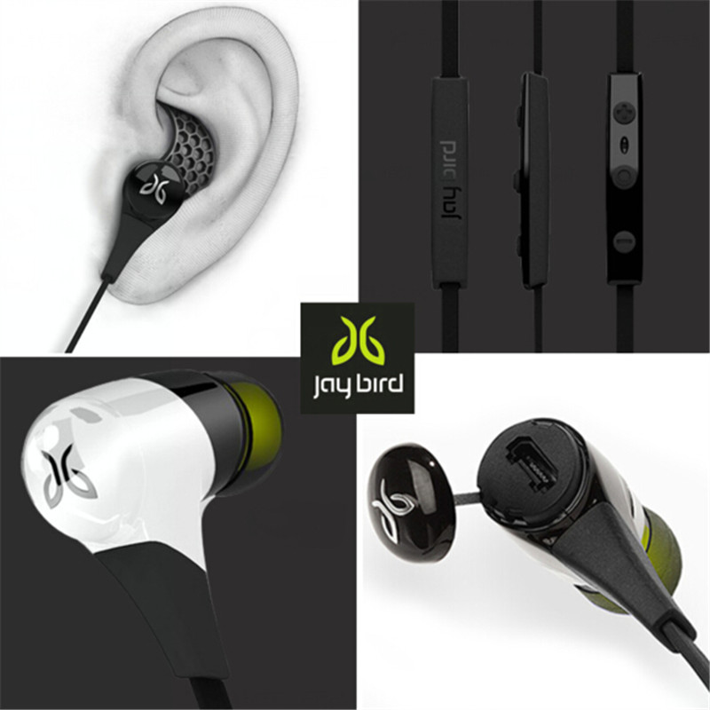 JAYBIRD BLUEBUDS X Wireless Bluetooth Headphone Bluetooth Stereo Sports Running Earphone Handsfree With Mic Black&amp; White<br><br>Aliexpress