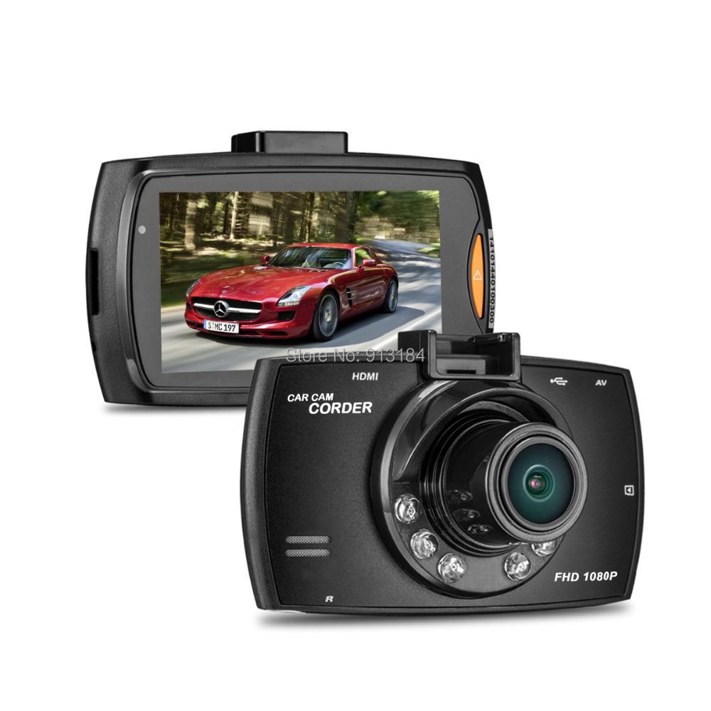 G30 Car DVR Car Black Box Novatek Car DVR Dash Cam 1080P 2.7 inch TFT Screen + G-Sensor + Night Vision + 170 Degree Angle Lens(China (Mainland))
