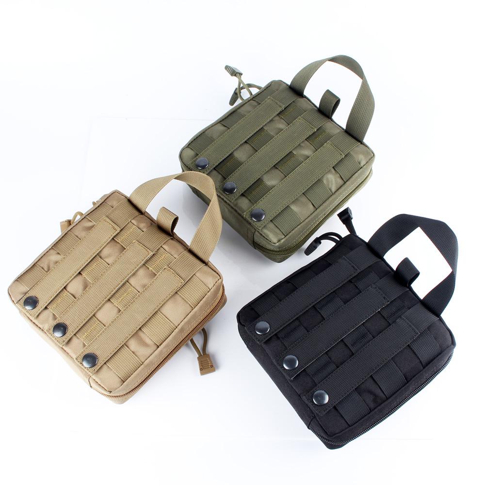 New CALDERAGEAR Tactical Military CORDURA Molle Utility EDC Tools Drop Pouch Bag Tan