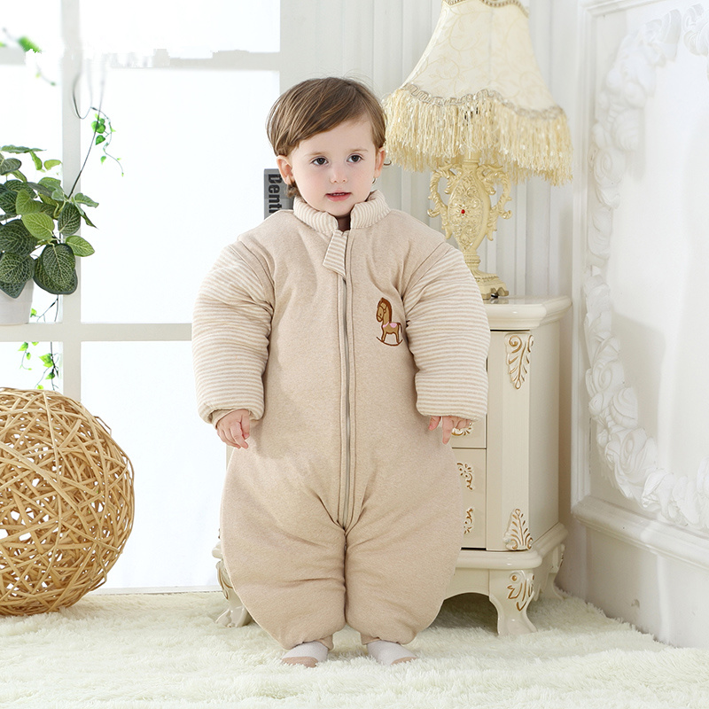 Organic cotton baby Sleepsacks colored spring and autumn and winter baby sleeping bags child cotton 100% anti tipi thickening(China (Mainland))