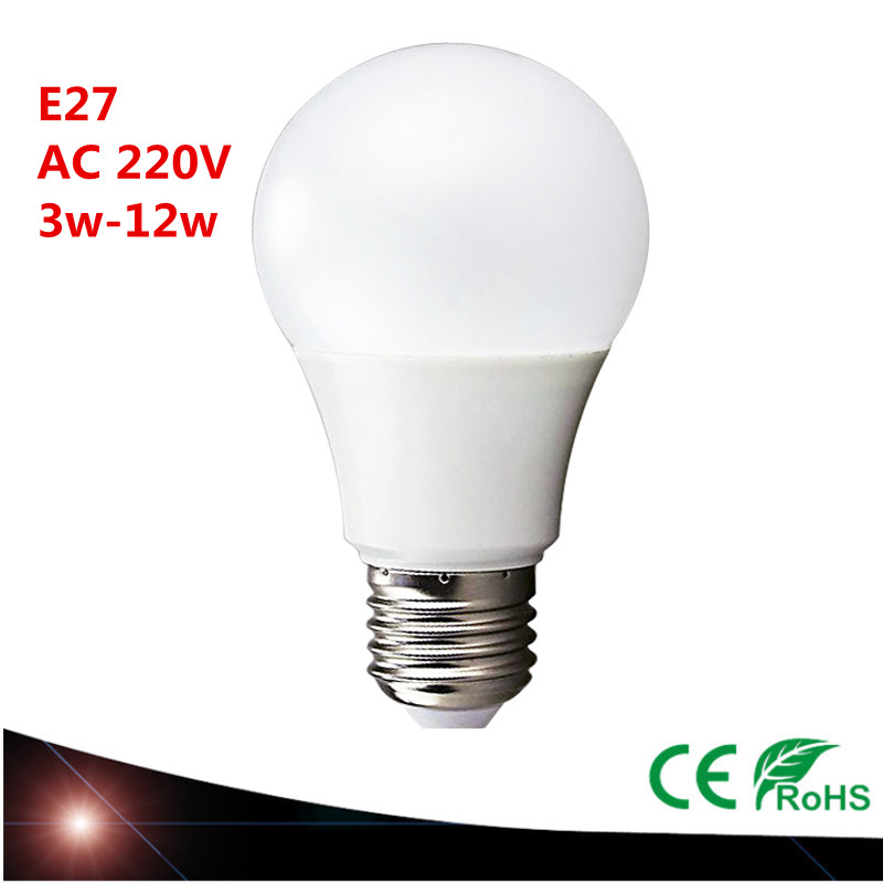 2016 NEW LED Lamp E27 3W 5W 7W 9W 12W 15W 110V 220V LED Bulb Light SMD5730 Fast Heat Dissipation High Bright Lampada LED Lamps(China (Mainland))