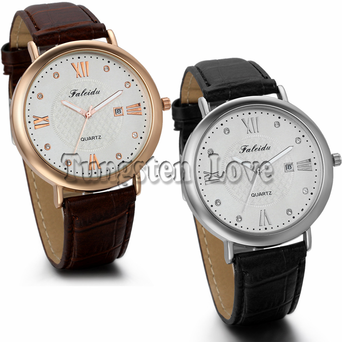 Luxury Watch Classic Quartz Men Watch Black Brown Leather Strap Analog Clock Men Casual Watch montre homme(China (Mainland))
