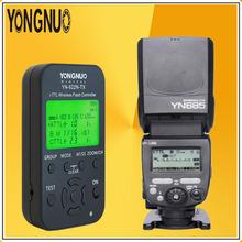 Buy YONGNUO Wireless 2.4G HSS 1/8000s TTL YN685 Flash Speedlite + YN622N-TX Flash Flexible LED Menu Control Nikon DSLR Cameras for $133.43 in AliExpress store