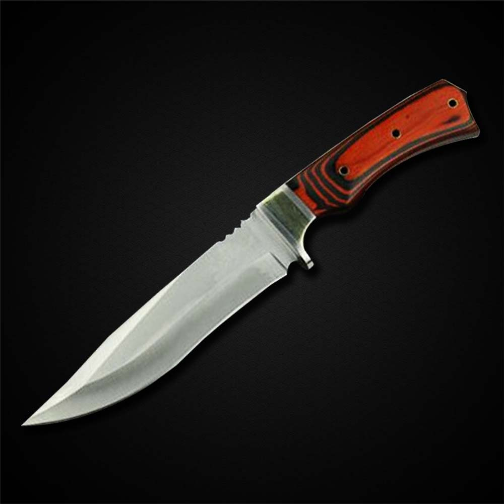 High Quality K85 Tactical Fixed Blade Stainless Steel 7Cr17Mov Blade Bowie Knife Hunting Knife Tool(China (Mainland))