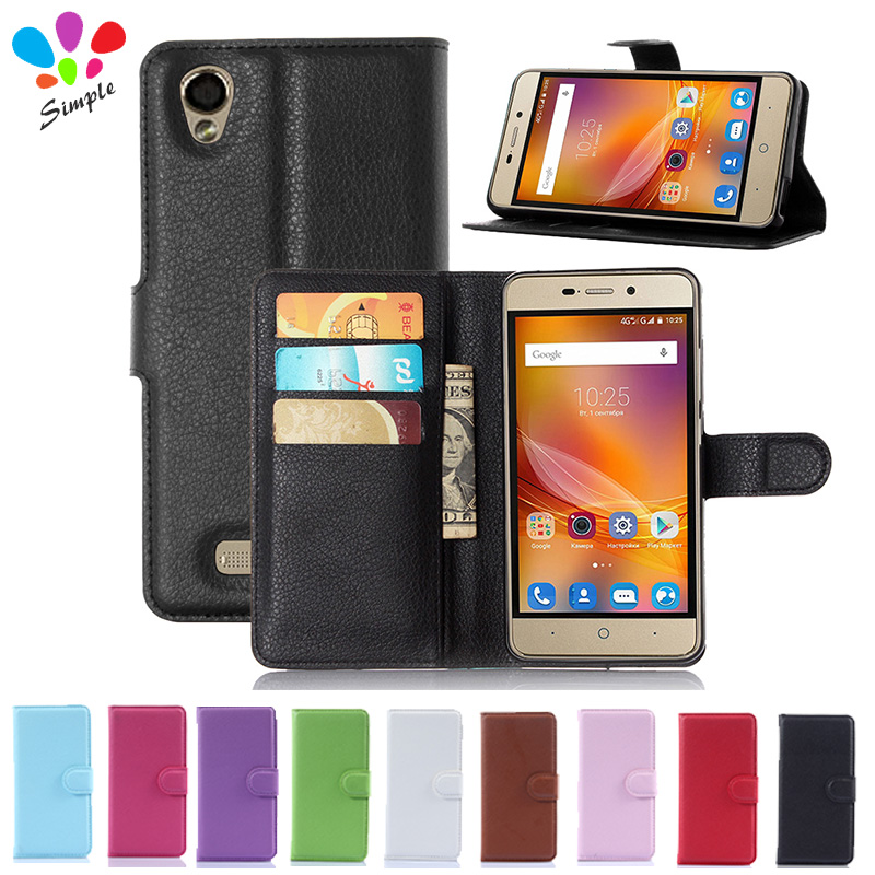 For ZTE Blade X3 Case Luxury Wallet PU Leather Case Cover  For ZTE Blade X3 D2 Flip Protective Cell Phone Shell Back Cover Skin