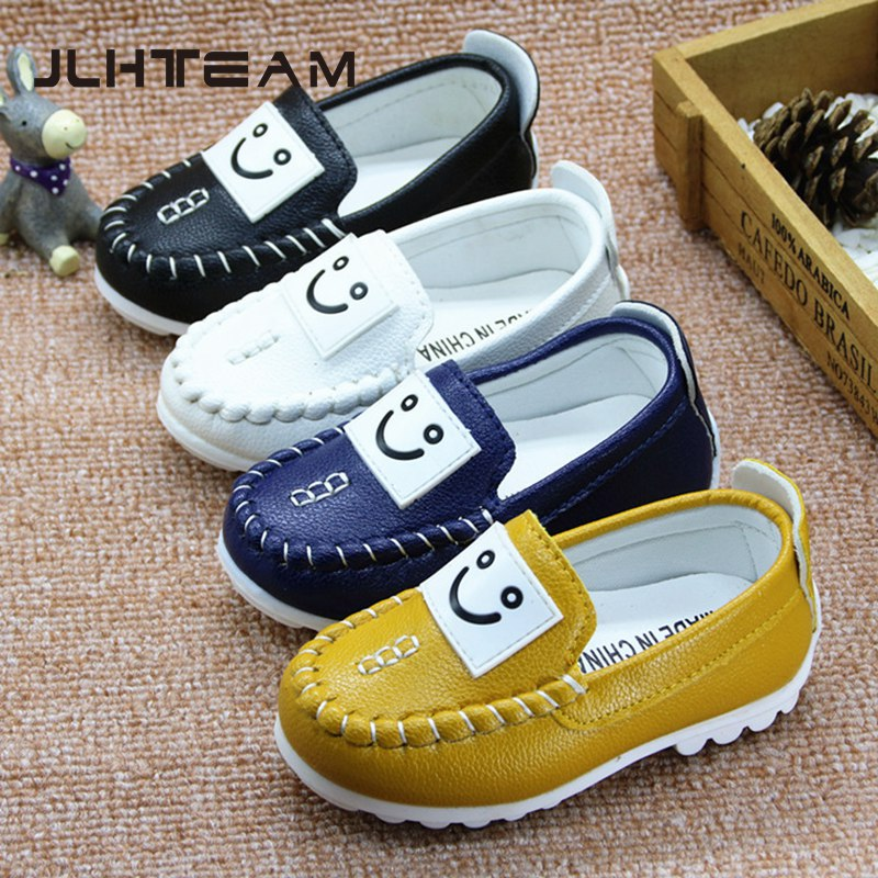 Baby moccasins 2016 hot new fashion leather shoes first walkers For baby boys shoes flat shoes boat shoes The Loafer(China (Mainland))