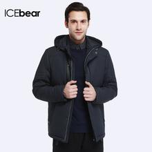 ICEbear 2017 Detachable Cold Wind Cap Autumn&Spring New Fashion Design Men Winter Jackets And Coats 17MC210(China (Mainland))