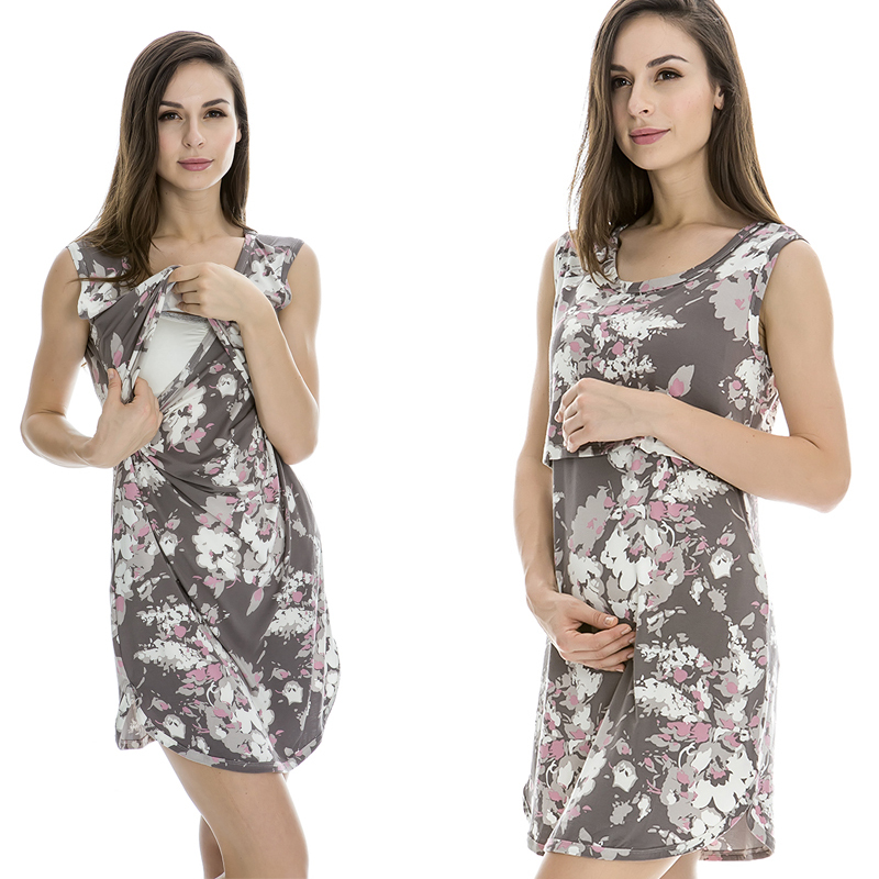 Free Shipping Fashion Comfortable Clothes for Pregnant Women Maternity Clothing Summer Dress 2015 Breastfeeding Clothes<br><br>Aliexpress