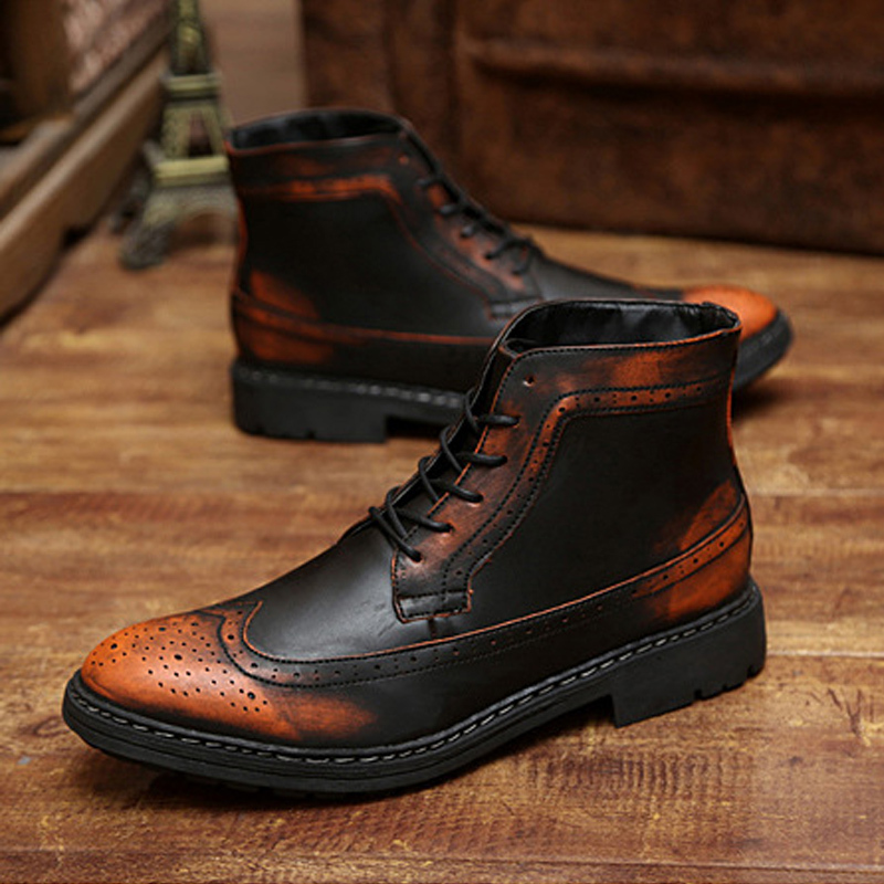 buy 2015 army boots leather martin style