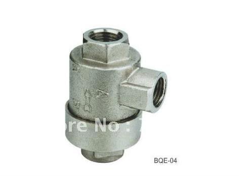 BQE-02 Pneumatic 1/4 BSPT Quick Exhaust Valve Brass