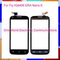 1pcs lot Black White 4 5 For Fly IQ4406 ERA Nano 6 Touch Screen Touch Panel