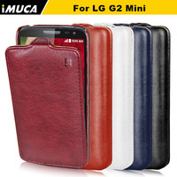 iMUCA Brand For LG G2 Mini Case Flip Leather Luxury Case Cover For LG G2 Mini D620 D618 Mobile Phone Bags & Cases Accessories