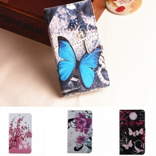 Flower Leather Case For Microsoft Nokia Lumia 540 Dual Sim N540 Cases Back Cover Shell Caso Wallet Fundas Phone Bag Card Holder(China (Mainland))
