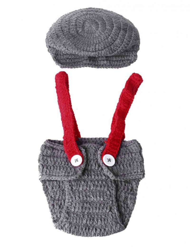 Гаджет  HOT Newborn Baby Girls Boys Clothes Crochet Knitted Costume Photo Photography Props Outfits None Изготовление под заказ