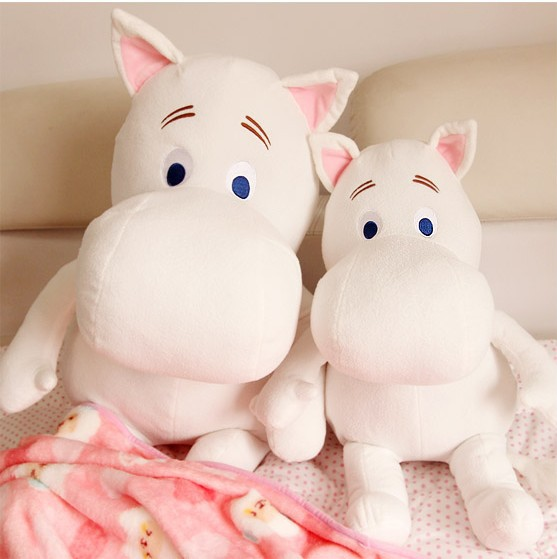 23CM Hot Sale Moomin Hippo Plush Toy Stuffed Doll Little Fertilizer Valentine Gift Promotional Toy Christmas Gift for Kids(China (Mainland))