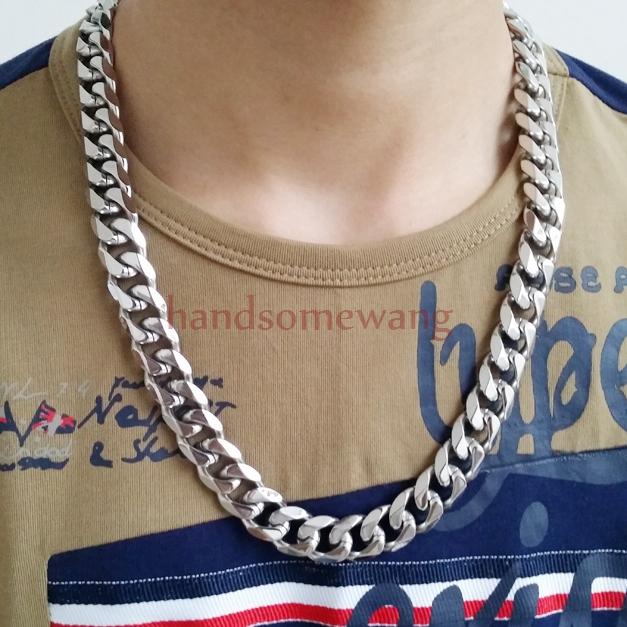Заказать серебряную цепочку мужскую на шею