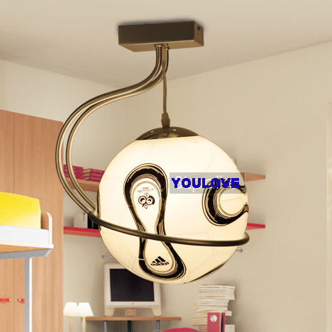 online kaufen gro handel fu ball lampe f r jungen zimmer. Black Bedroom Furniture Sets. Home Design Ideas