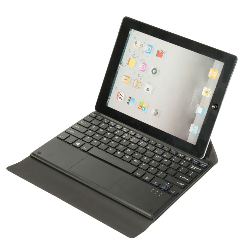 Excellent Quality Magnetic To Stick Tablet PC Folding Holder Leather Keyboards Case Cover With Touch Pad Keyboard For Linx 10''