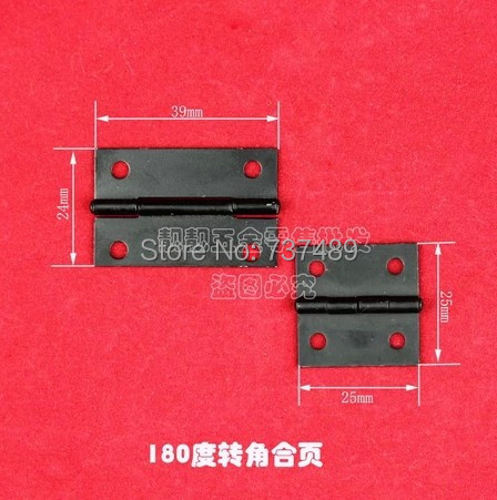 Antique jewelry hinges for box hardware fittings wooden wine special black iron hinge(China (Mainland))
