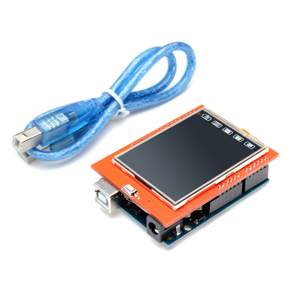 ЖК-модуль New 2.4 2,4/tft LCD Arduino UNO беспроводное зарядное устройство nillkin magic disk iii wireless mobile черный