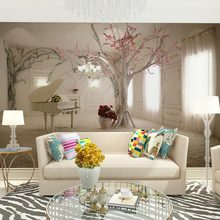 Europe interior murals wallpaper for walls 3 d decor for living room girls room bedroom wall decals(China (Mainland))