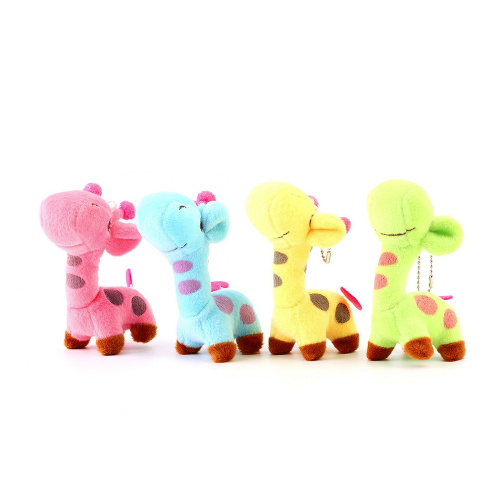 Hot! Lovely Cute Kids Child Giraffe Gift Soft Plush Toy Baby Stuffed Animal Doll Fashion Hot Selling(China (Mainland))