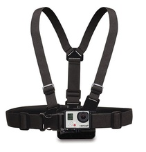Adjustable Chest Belt Strap Chest Mount Harness for Gopro HD Hero 3+/3/2/1 Sj4000 Sj5000 Sport Action Camera Accessories Black