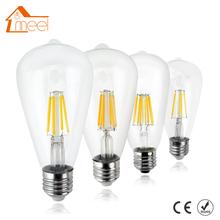 Buy LED Dimmable Filament Blub E27 220V 240V ST64 Edison Bulb Antique Retro Vintage Glass Housing LED Bulb Lamp for $2.04 in AliExpress store