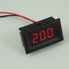 Mini Two Wires Digital Voltmeter Red LED Display DC2.5-30V Voltage Meter CA1T