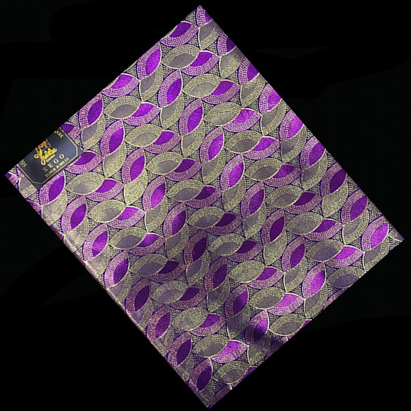 ST9-5Violet +Golden New Design Embroidery French Sego Head tie High Quality Fashion African Gele Head tie(China (Mainland))