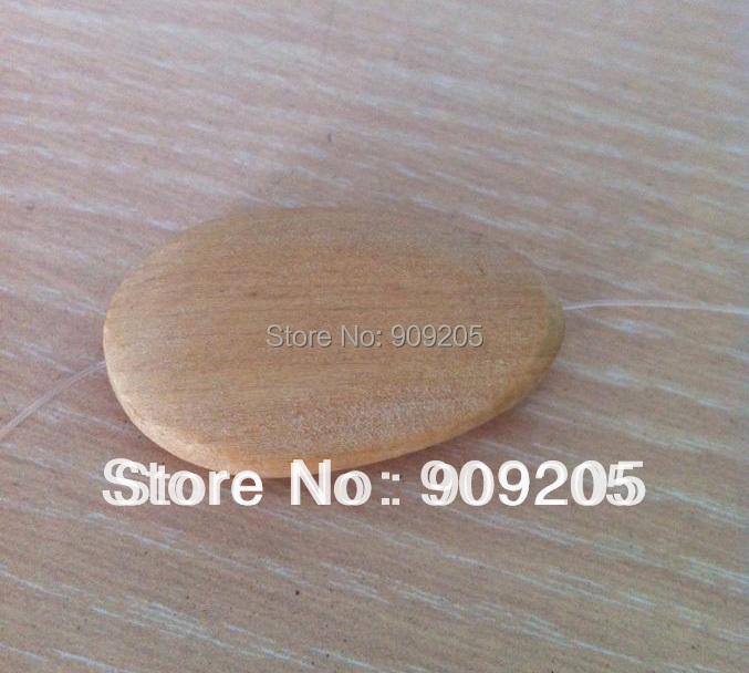 Good wood/unfinished wooden beads/DIY wooden jewelry/45*25mm/100pcs SMT-137J<br><br>Aliexpress