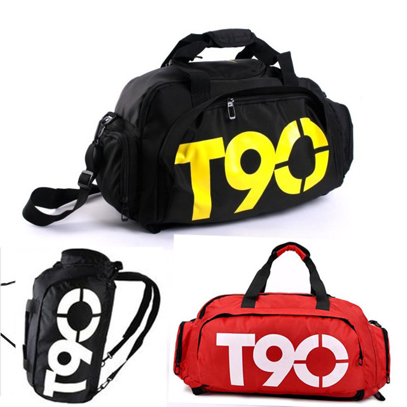New Men's Travel Bags Fashion Mulitifunctional Brand Outdoor men gym bag T90 Sport Bags Casual Backpacks(China (Mainland))
