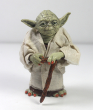 Star war Jedi Knight Master Yoda Action Figure PVC 12cm Model Doll Kids Toys Gifts