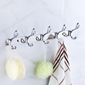 Free Shipping Wholesale And Retail Promotion Luxury Wall Mounted Bathroom Towel Clothes Hat Hook Hangers Shower