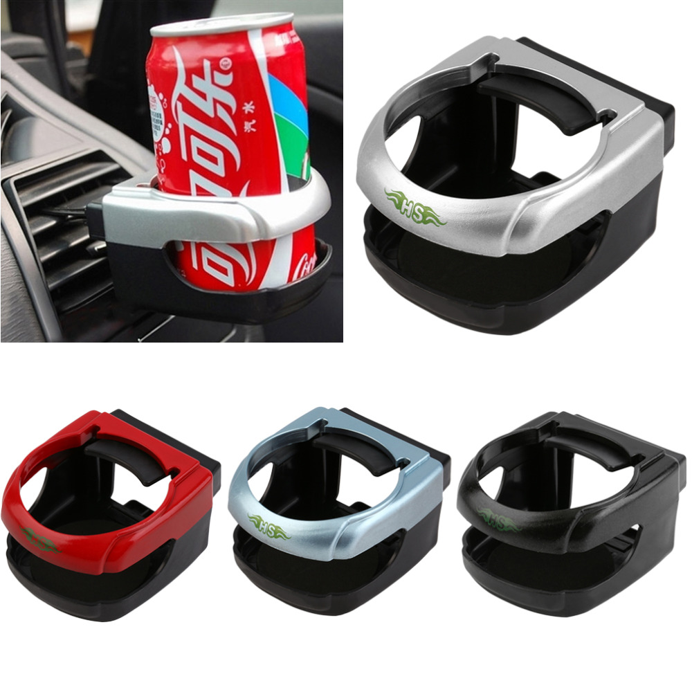 Clip-on Auto Car Truck Vehicle Air Condition Vent Outlet Can Drinking Water Bottle Coffee Cup Mount Stand Holder Accessories(China (Mainland))