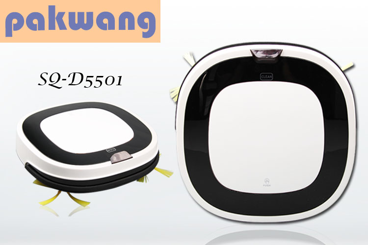 Pakwang vacuum cleaner cyclone intelligent-robot household cleaning advanced model SQ-D5501 mopping robot wet and dry mop(China (Mainland))